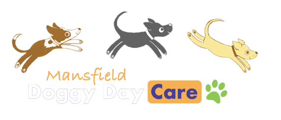 mansfield doggy day care footer logo